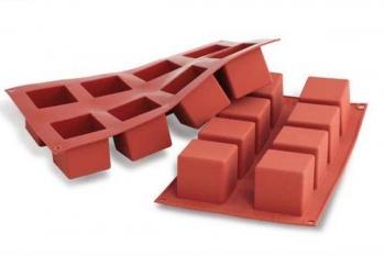 Silikoonvorm Cubo 8tk