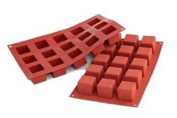 Silikoonvorm Cubo 15tk