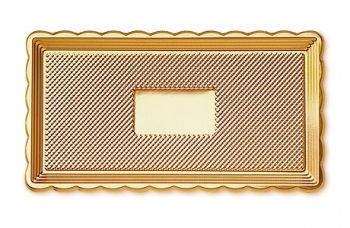 Medoro koogialus kuldne 15x35cm
