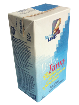 Taimne vahukreem suhkruga Dolce Fanny 1L
