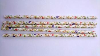 Paberkõrred Lillelised suured 20tk