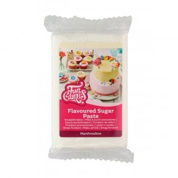 Suhkrumass valge vahukomm Marshmallow White 250g