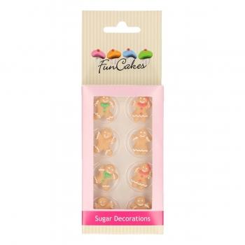 Suhkrudekoratsioon piparkoogid/Gingerbread 8tk