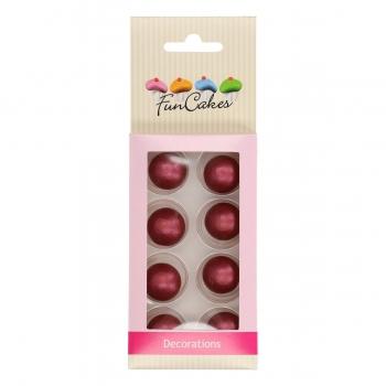 Šokolaadipärlid rubiin 8tk