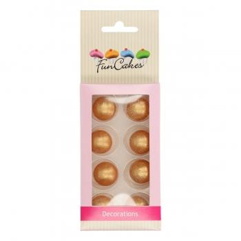 Šokolaadipärlid kuldsed 8tk