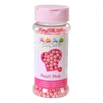 Suhkrupärlid pärlmutter roosa Pearl Pink 80g