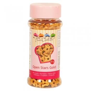 Suhkrutähekesed avatud kuldsed 55g
