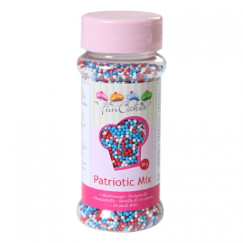 Nonparellid Patriotic Mix 80g
