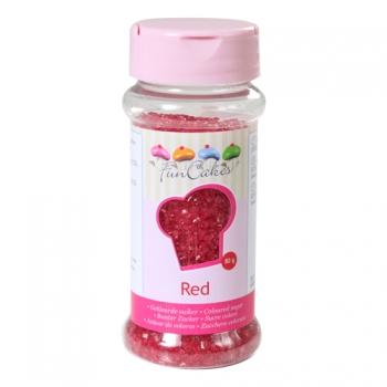 Kristallsuhkur punane Red 80g