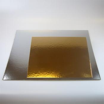Tordipapp kandiline kuld/hõbe 20cm