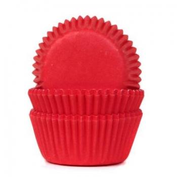 Muffinivormid mini punased 60tk