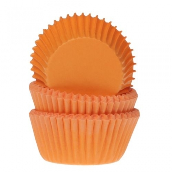Minimuffinipaberid Oranžid 60tk