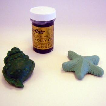 Astelpõõsa roheline (Holly green) toiduvärv pastana 25g