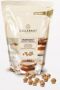 Krõbedad teraviljagraanulid soolakas karamellimaitselises šokolaadis Callebaut 72g
