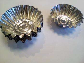 Küpsetusvormid metallist 10tk
