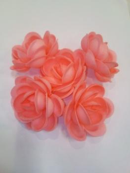 Vahvliroos suur roosa 5tk