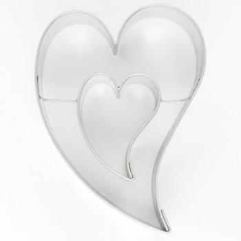 Metalllõikur viltune Süda südames