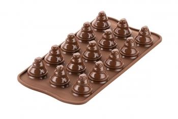 Šokolaadikommi vorm Tree