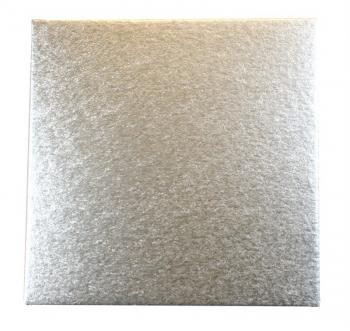 Tordialus Hõbedane ruut 22,8x22,8cm