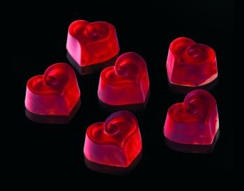 Kommivorm polükarbonaadist süda