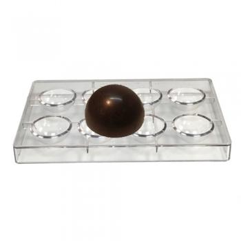 Šokolaadivorm Poolpallid
