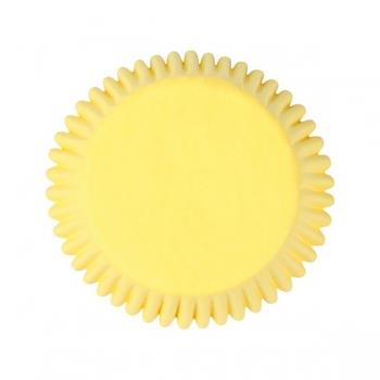 Muffinipaberid kollased 50tk