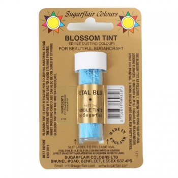 Kroonlehe sinine (Petal blue ) toiduvärv pulbrina 7ml