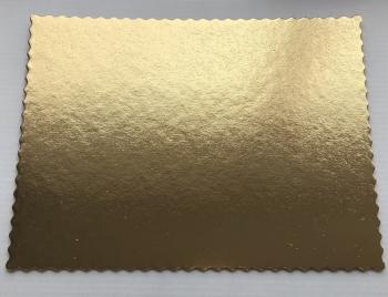 Koogialus  kartongist kuldne 40x50cm