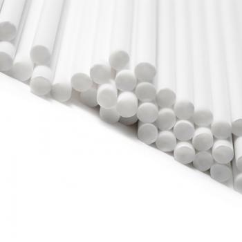 Pulgakoogipulgad plasikust valged 11,4cm 50tk