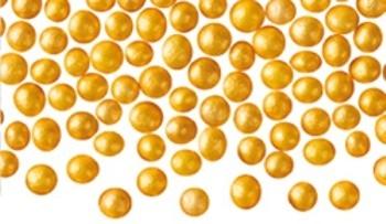 Suhkrupärlid Kuldsed 75g
