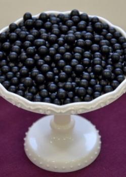 Suhkrupärlid mustad pehmed 75g