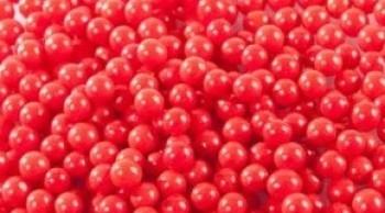 Suhkrupärlid Punased 25g