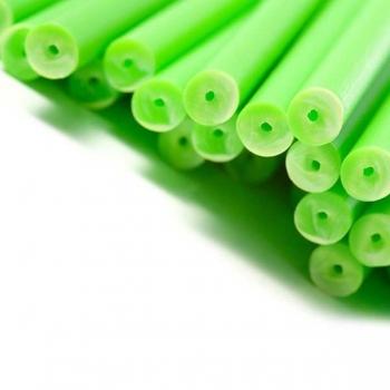 Pulgakoogipulgad Plastikust Rohelised 50tk
