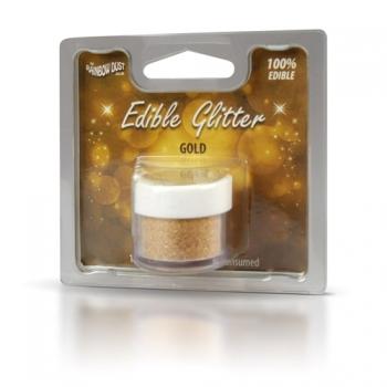 Glitter söödav Kuldne 5g