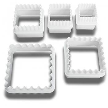 Plastlõikurid ruudud 5tk