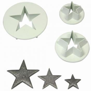 Plastlõikurid tähed 3tk