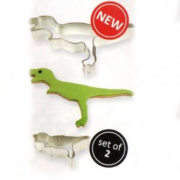 Metalllõikurite komplekt Dinosaurus 2 tk