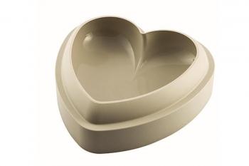 Silkioonvorm süda Batticuore 3D