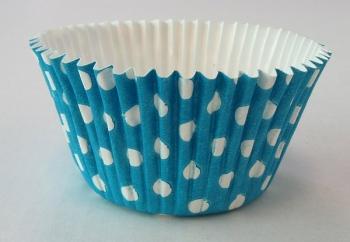 Küpsetusvormid Como Sinisetäpilised 20tk