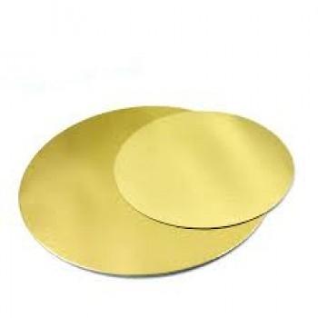 Tordipapp kuldne ümar 8cm