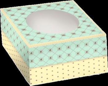 Tordikarp värviline 21x21x12,5cm.