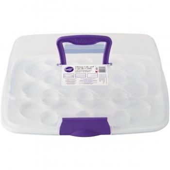 Koogi- ja muffinite karp transpordiks