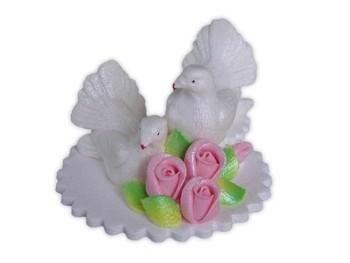 Tuvid alusel Roosa roosiga suhkrust