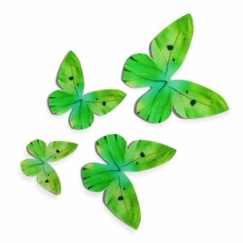 Vahvliliblikad Rohelised 12tk